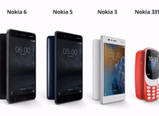 Nokia 3 and 5 are now available