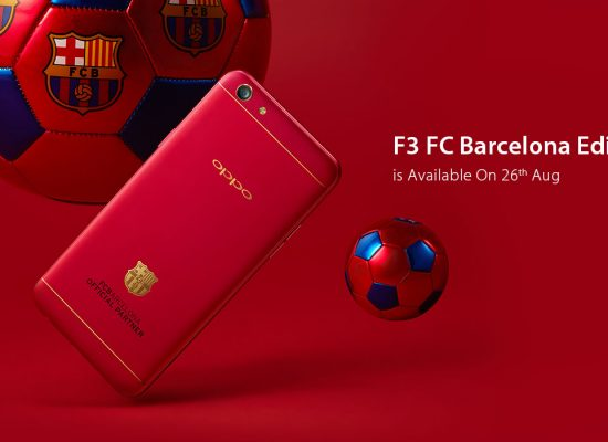 Oppo F3 FCB Limited Edition is now available