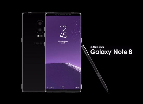 Samsung Galaxy Note 8 announced and launched