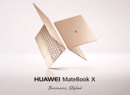HUAWEI Unveils a Stylish New Series of MateBook Devices