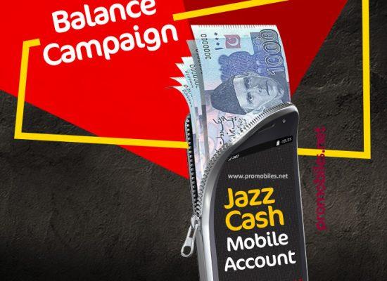 Jazz Cash Balance Campaign