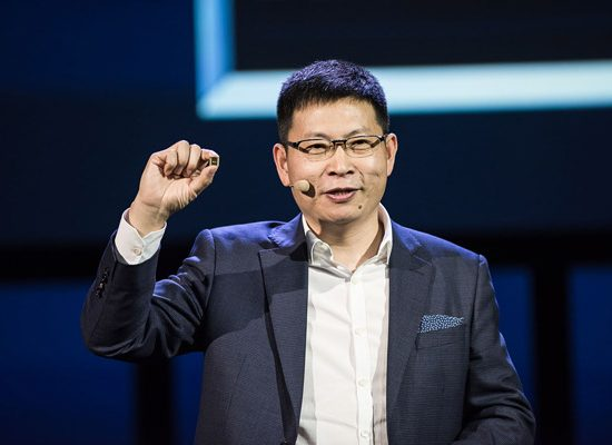 CEO Richard Yu Unveils the Kirin 970, HUAWEI's first mobile AI computing platform