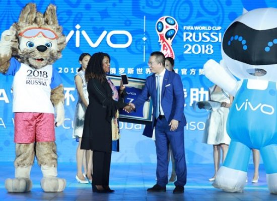 """Vivo becomes official smartphone sponsor of the 2018 and 2022 FIFA World Cupâ""""¢"""