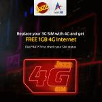 4G sim offer