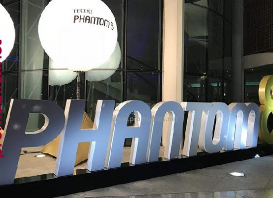 Tecno launches its 'Phantom 8' at Dubai