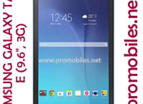 SAMSUNG GALAXY TAB E (9.6″, 3G)