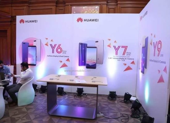 Huawei launches Y series 2018