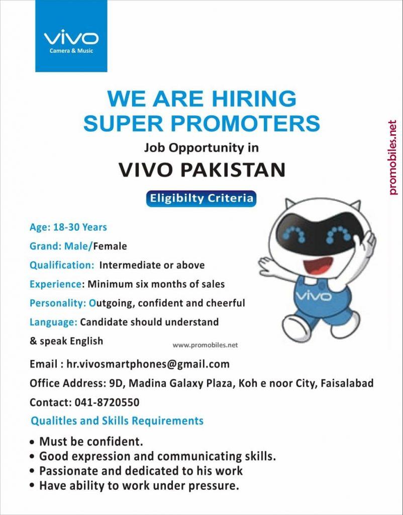 Vivo hiring Super Promoters