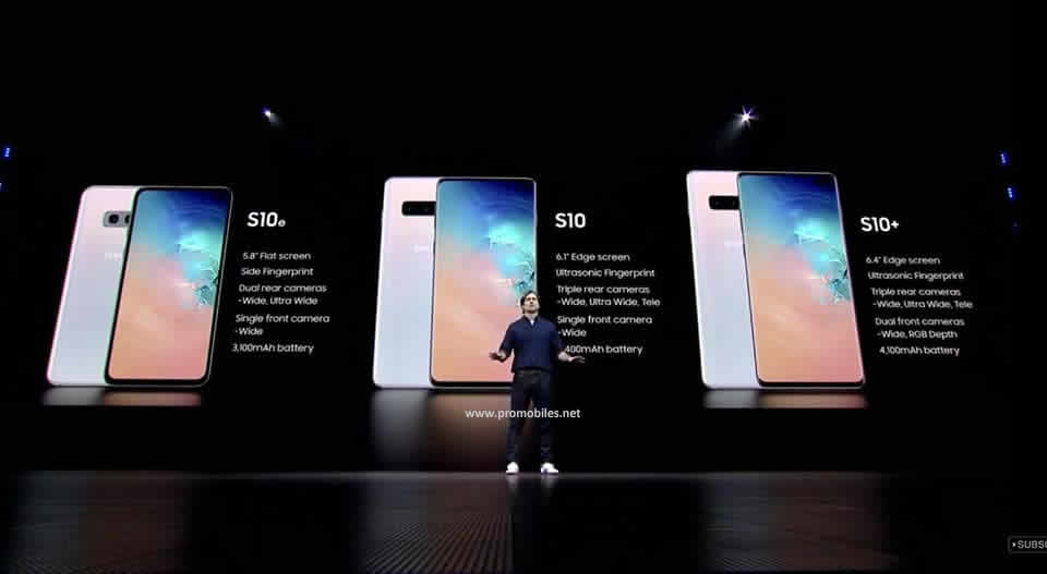 Samsung Galaxy unpacked, Samsung Galaxy S10, Galaxy S10+ Unveiled