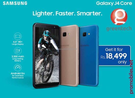 Lighter Faster Smarter Samsung Galaxy J4 Core