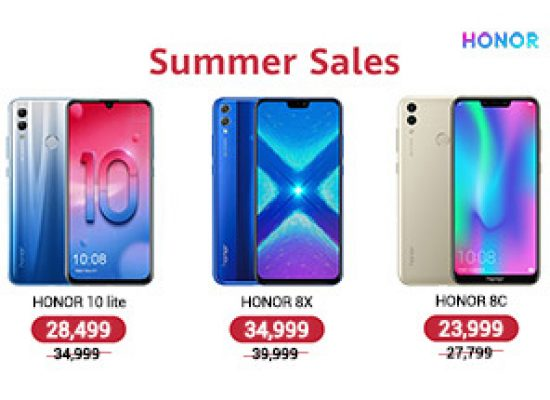 Honor Summer Sale Announed  : Effective From 21st June