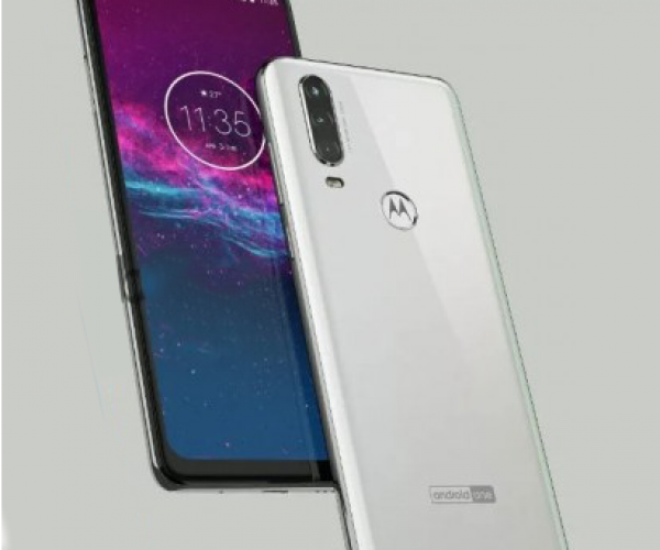 Motorola One with a Punch hole display and Triple Camera