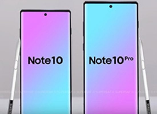 Note 10 and Note10 Pro To be launched on August 7