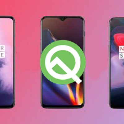 The third Android Q Developer Preview of OnePlus 7, 7 Pro, 6 and 6 T