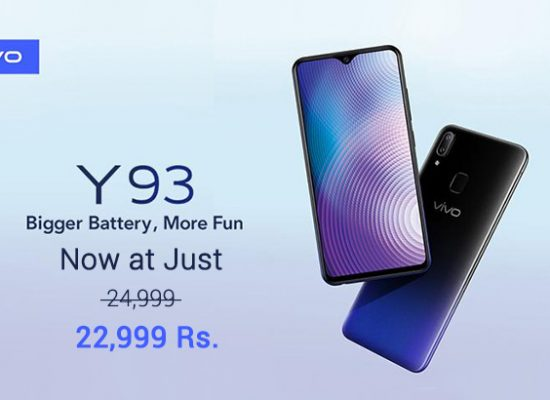Vivo Y93 is now just at 22,999 in Pakistan