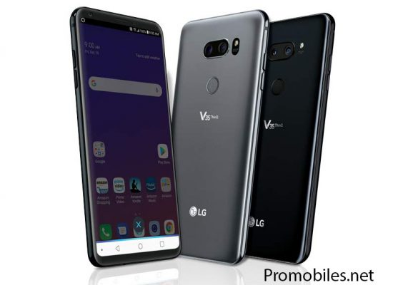 LG V35 ThinQ started receiving Android Pie update in USA