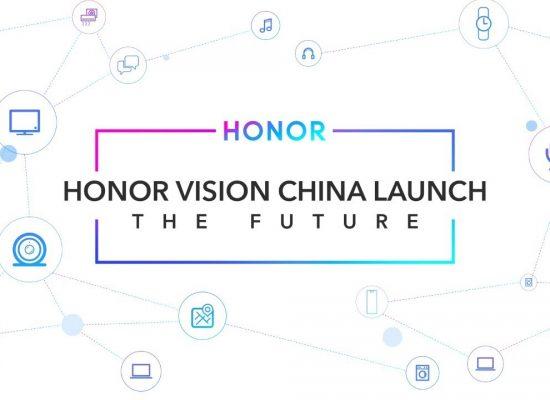 Honor's Harmony OS launch ceremony