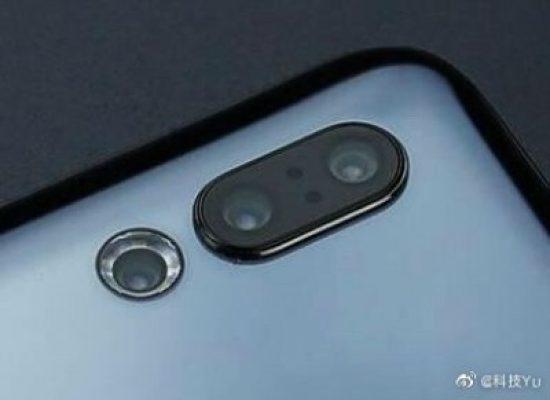 Meizu 16s Pro has an circled camera flash