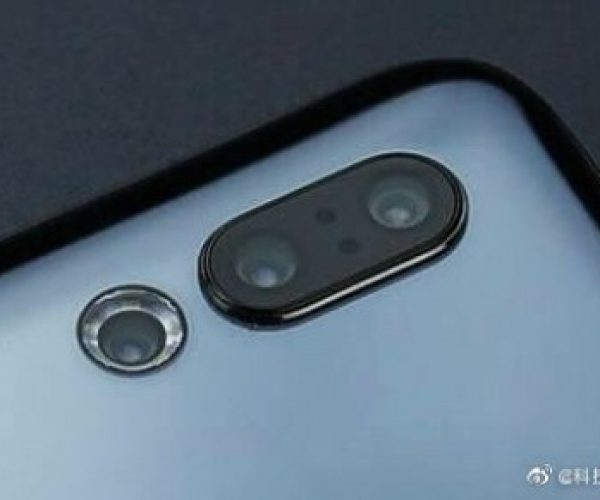 Meizu 16s Pro has an circled camera flash