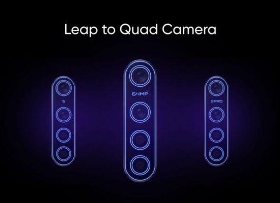 Realme is launching three quad camera Phones in October