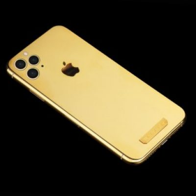 Legend iPhone 11 Pro with Solid gold  back is being sold for more than €3,000