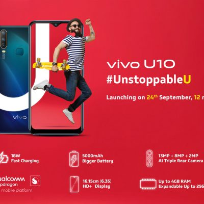 Specifications of vivo U10 disclosed before launch