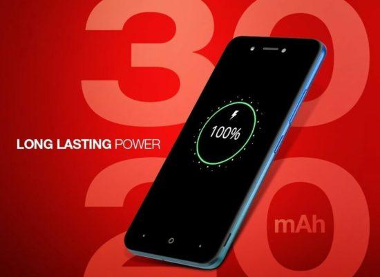 Itel A25 – Long lasting power