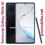 Samsung Galaxy Note 10 Lite - An Affordable Smartphone of the Lineup