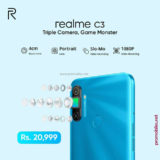 Realme offering C3, with triple camera and game monster