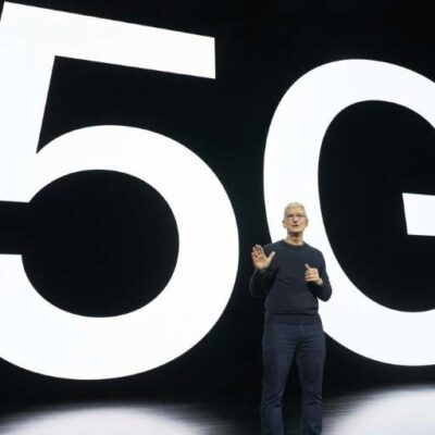 Apple announces new iPhone models with 5G wireless