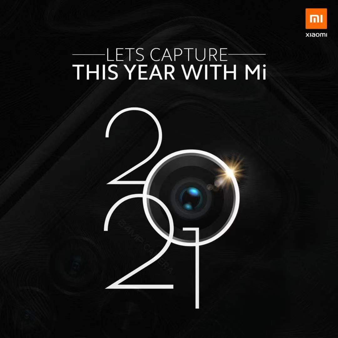 Xiaomi wishes a happy new year