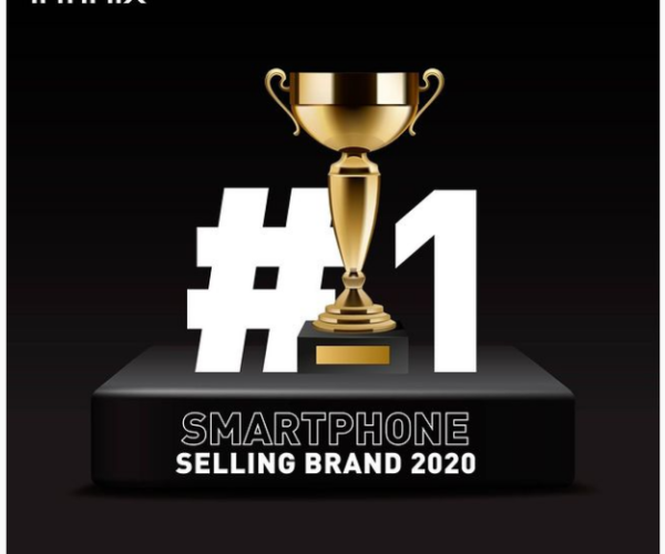 Infinix claims to be #1 Smartphone selling brand 2020