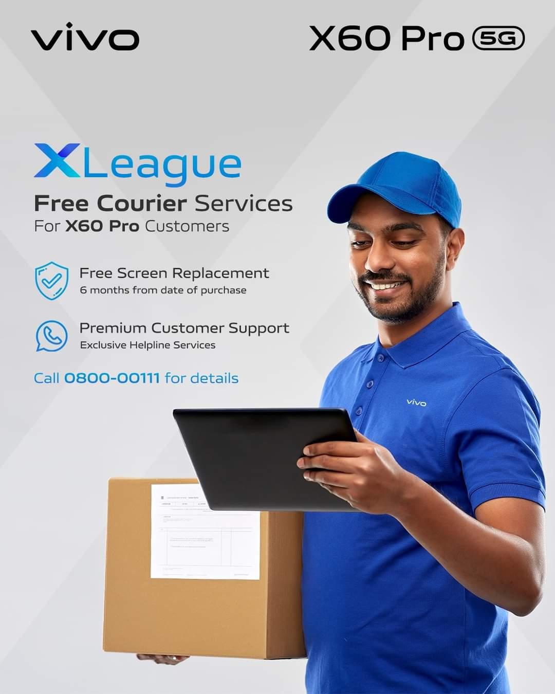 Vivo offering X60pro VIP Service